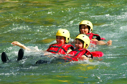 Oueds & Rios rafting in partnership with the holiday centers