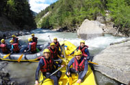 Advantageous packages for white water activities on the Ubaye spring and autumn